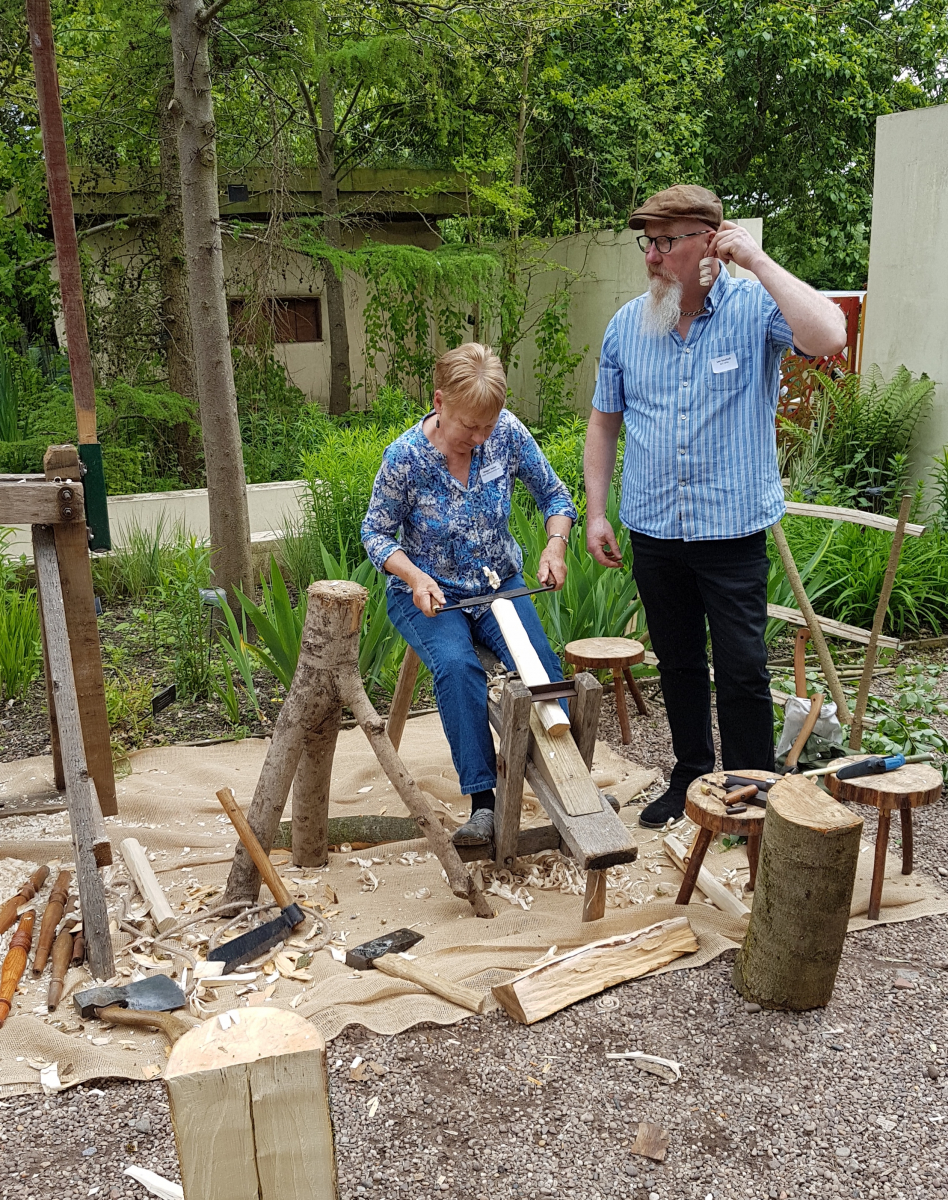 Green Woodworking workshop with Lee Southall